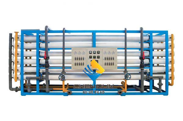 50T/H單(dan)級反滲透設備