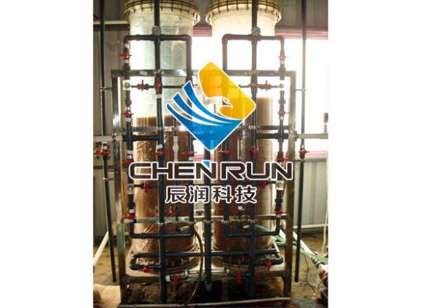 2T/H雙級反滲透+混床(chuang)設備
