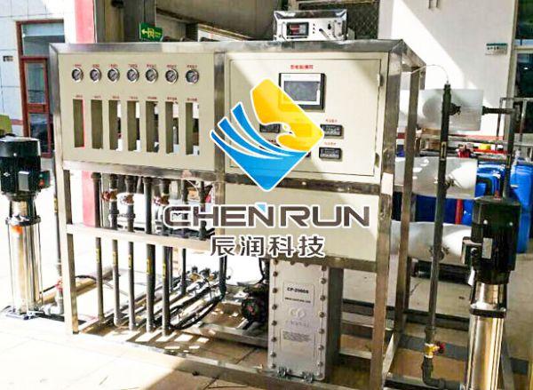 2T/H雙級反滲透+EDI設備