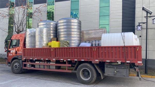 廣州(zhou)4噸(dun)雙級+EDI裝車