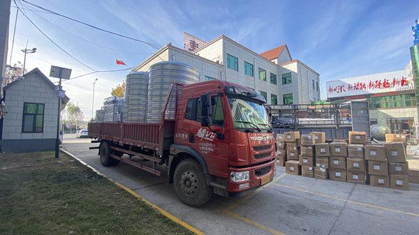 上海(hai)4噸(dun)雙級+EDI裝車
